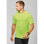 PA476 - T-shirt uomo sportiva maniche corte scollo a V